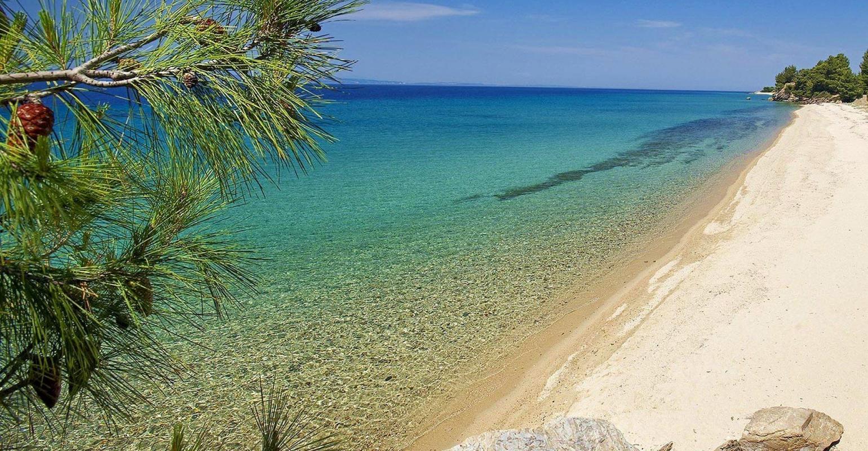Фото лучшего пляжа в халкидиках